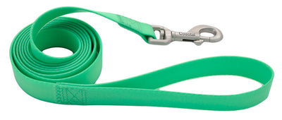 "Coastal Pro Waterproof Dog Leash 1"" x 6 ft LIme"