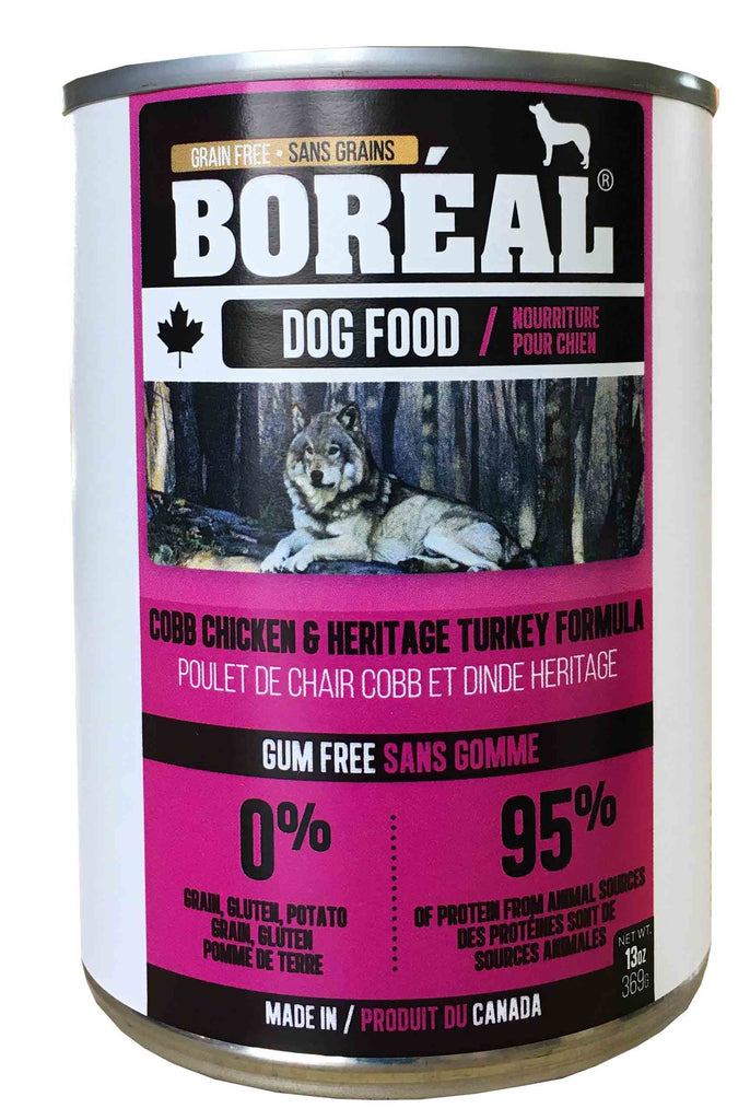 Boreal - Cobb Chicken & Heritage Turkey Canned Dog Food - 13oz