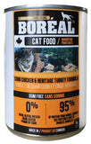 Boreal - Cobb Chicken & Heritage Turkey Canned Cat Food - 13oz