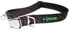 Cycle-Dog Earth Friendly Dog Collar-Multi Diagonals Collar