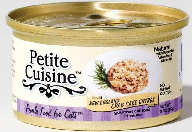 Petite Cuisine Cat Food-New England Crab Cakes Entree 3 oz SALE *BLOWOUT*