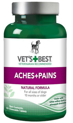 Vets Best - Aches and Pains 50 Chewable Tablets