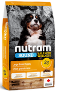 Nutram - Sound Balanced Wellness - Large Breed Puppy S3 - Dry Dog Food 11.4 kg