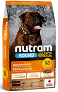 Nutram - Sound Balanced Wellness - Large Breed Adult S8 - Dry Dog Food 11.4kg
