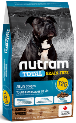 Nutram - Total Grain Free - Trout and Salmon  T25 - Dry Dog Food