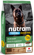 Nutram - Total Grain Free - Lamb and Lentils T26 - Dry Dog Food
