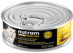 Nutram - Total Grain Free - Trout and Salmon - Wet Cat Food SALE