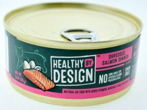 Healthy By Design - Shredded Salmon Dinner - Wet Cat Food