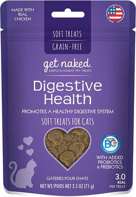 Get Naked Digestive Health 2.5 oz Cat Treat