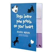 Dog Paws Sticky Notes