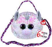 Beanie Boo Diamond Sequin Purse 8""