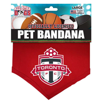 All Star Dogs Bandana Toronto FC - large SALE