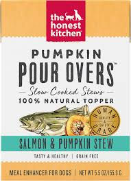 The Honest Kitchen Pumpkin Pour Overs Salmon and Pumpkin Stew