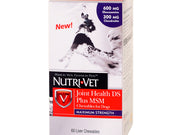 Nutri-Vet® Joint Health DS Plus MSM Chewables for Dogs 60 Liver Chewables