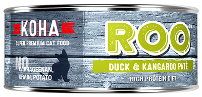 KOHA Roo Duck & Kangaroo Pate Cat Food -5.5oz