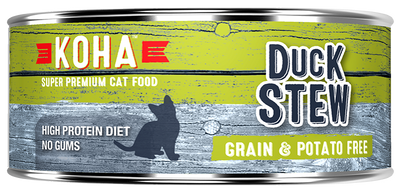 KOHA Duck Stew Cat Food -5.5oz