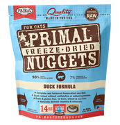 Primal Freeze Dried Duck Cat Food