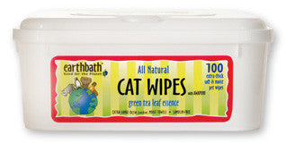 Earthbath Shed Control Grooming Wipes for Cats