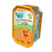 Emerald Pet Feline Dental Treats tub 11 oz