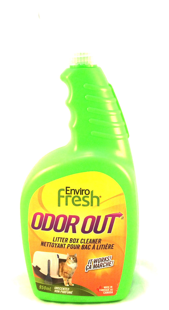 Enviro Fresh - Odor Out - Litter Box Cleaner