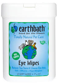 Earthbath - Eye Wipes