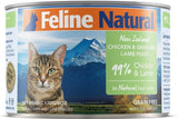 Feline Natural - Canned Cat Food - Chicken & Lamb