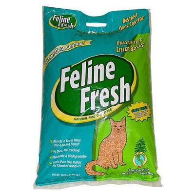 Feline Fresh Pine Litter Pellets Cat Litter