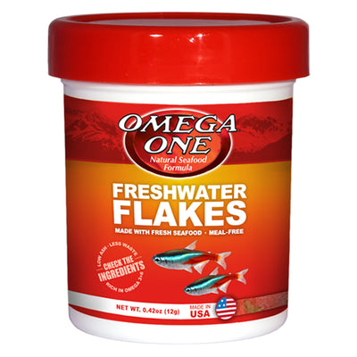 Omega One Fresh Seafood Formula Fresh Water Flakes