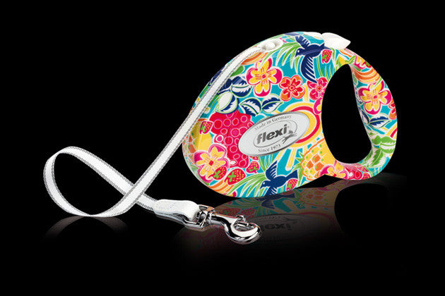 Flexi - Fashion Ladies Leash - Small 10ft - Tropic