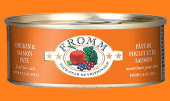Fromm Chicken & Salmon Pate Cat Cans