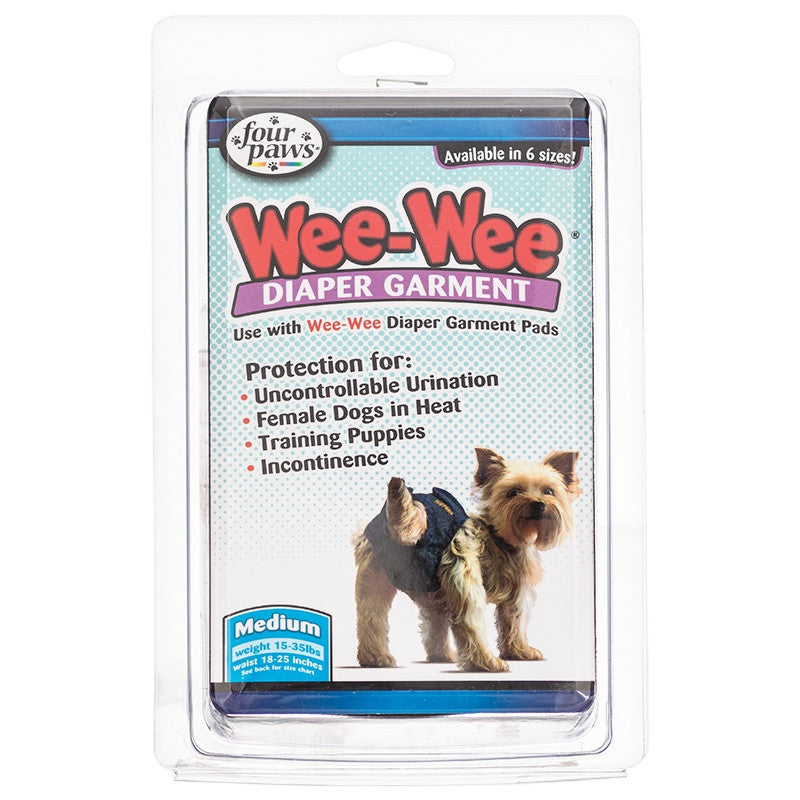 Four Paws - Wee-Wee Diaper Garment(medium)