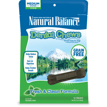 Natural Balance Dental Chew - Fresh & Clean