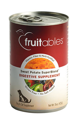 Fruitables - Digestive Supplement for Dogs & Cats