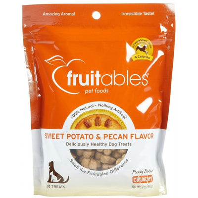 Fruitables Sweet Potato & Pecan Crunchy Dog Treats