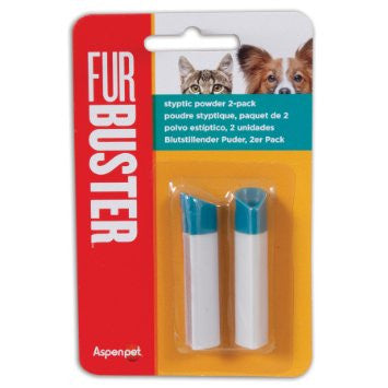 FurBuster 2pk Styptic Powder