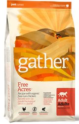 Gather Free Acres Organic Free-Run Chicken Recipe for Adult Cats 8lb
