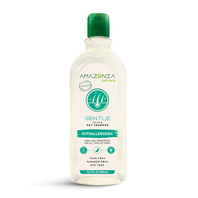 Amazonia Pet Care Gental Vegan Shampoo Hypoallergenic