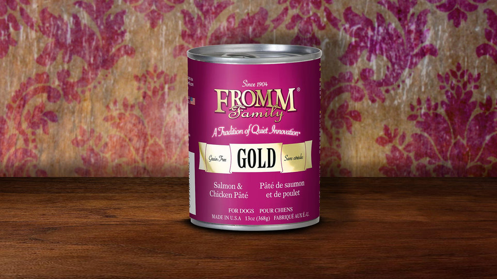 Fromm Gold Grain Free Dog Pate- Salmon & Chicken