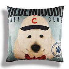 NPF - Pillow Cover - Goldendoodle