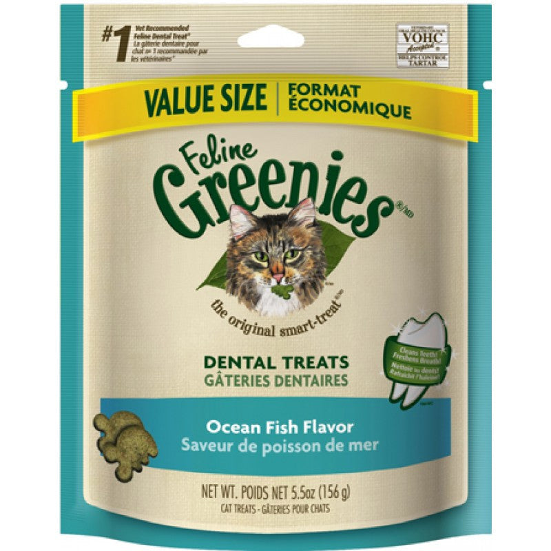 Greenies - Dental Treats Ocean Fish for Cats