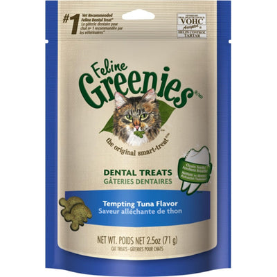 Greenies - Dental Treats Tempting Tuna Flavor for Cats