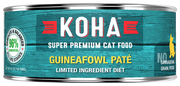 KOHA Guineafowl Pate Cat Food-5.5oz