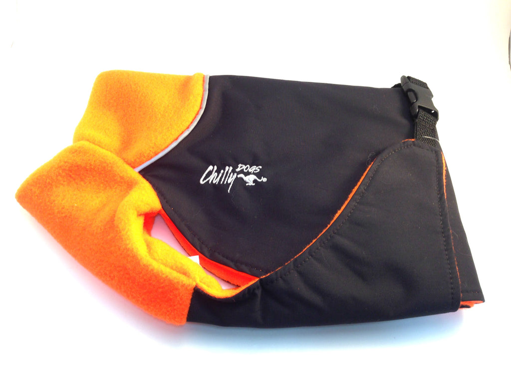 ChillyDogs - Great White North - Blaze Orange & Black SALE 25% Off