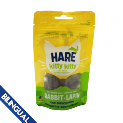 Hare Kitty Kitty Rabbit 0.9 oz  Cat Treat