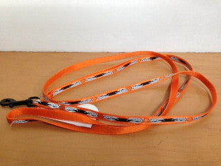 Harley Davidson - Orange Reflective Leash