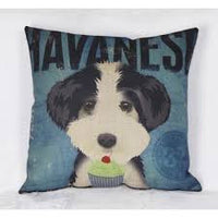 NPF - Pillow Cover - Havanese