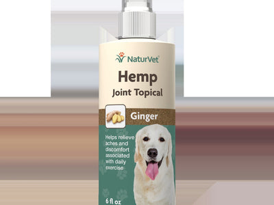 NaturVet - Hemp Joint Topical Spray For Dogs - 6 oz