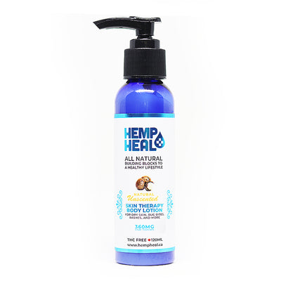 Hemp Heal Skin Therapy Body Lotion – 360 mg