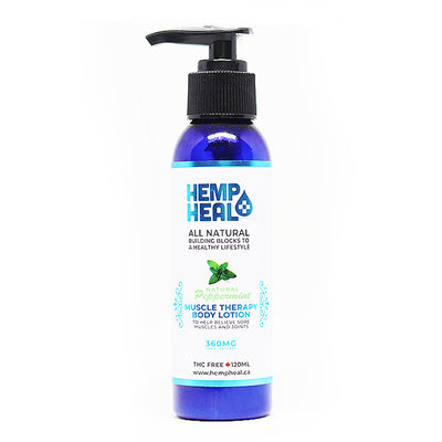 Hemp Heal Muscle Therapy Body Lotion– 360 mg
