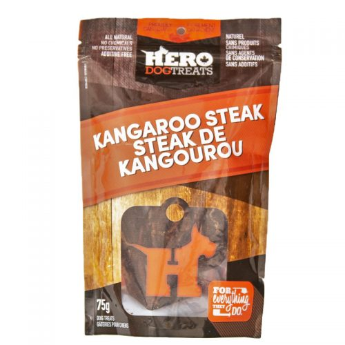 Hero Kangaroo Steak Treat 75 g